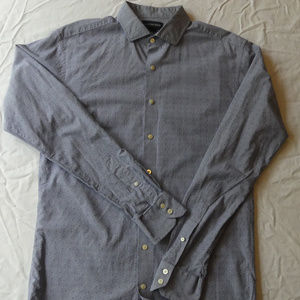 Lands End Tailored Tall Long Sleeve Dress Shirt